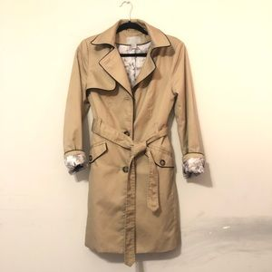 H&M Belted Trench Coat